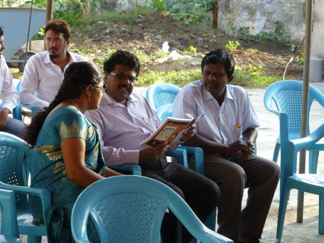 Swathi interacting with key guests