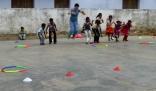Sports coaching session, Manur