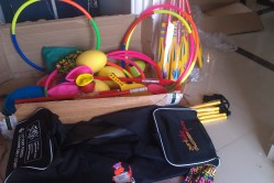 Sports equipment from Sport Wales, finally arrived!