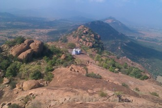 View from the top of temple