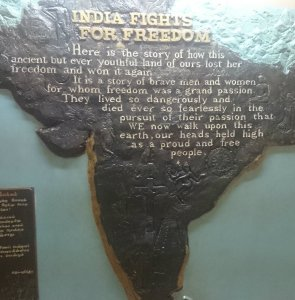 India fights for freedom